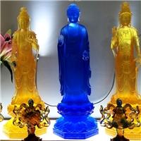 廣州琉璃藥師佛廠家 大號琉璃佛像 仿古老琉璃佛像做舊