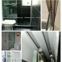 上海推拉门淋浴房铰链合页维修更换电话