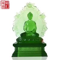 大號琉璃藥師七佛 琉璃背光藥師佛 廣州琉璃佛像工廠