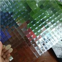 壓花玻璃-雙方格