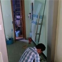 卢湾区玻璃门维修-上海玻璃门地弹簧更换安装-换玻璃
