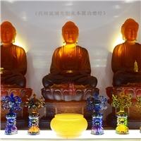 广州大件琉璃佛像药师佛 寺庙琉璃佛像定制 广州琉璃