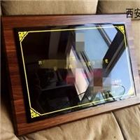 西安水晶獎牌 木托水晶牌定制