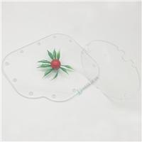 CNC钻孔 激光打孔钢化玻璃 异型钢化玻璃定制