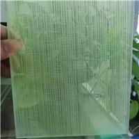 夹绢夹丝玻璃