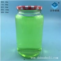 徐州生產500ml食品玻璃罐頭瓶