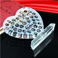西安水晶照片,毕业合影水晶工艺品定制
