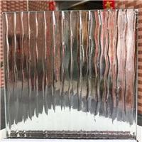 水波纹热熔玻璃厂家供应