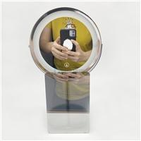 LED臺式鏡面玻璃 表面AG處理鏡子鏡面魔鏡玻璃