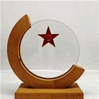西安木托水晶奖杯定制 创意奖牌加工