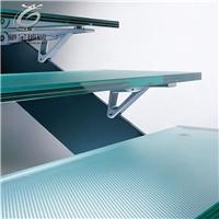 供应12+12双层防滑钢化玻璃