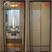 淋浴房智能调光玻璃 雾化通电玻璃价格