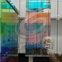 炫彩夾膠玻璃 幻彩藝術玻璃