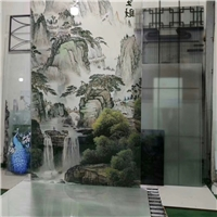 玻璃背景墙定制打印机 玻璃数码印花设备