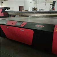 转让二手UV平板打印机2513理光喷头机器