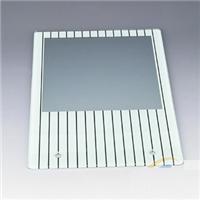 灯具玻璃深加工 印刷图案 钢化玻璃