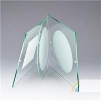 灯饰玻璃 方形钢化玻璃片