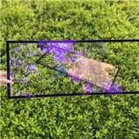 340*580显示屏丝印玻璃 超清钢化玻璃厂