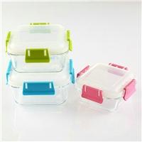 高鹏硅耐热保鲜盒正方形