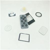 款式精美智能触摸面板钢化丝印玻璃