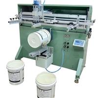 塑料桶絲印機廠家涂料桶滾印機真石漆桶絲網印刷機