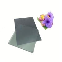 玻璃廠供應半透灰鋼化玻璃 深灰色鋼化玻璃 深黑色玻璃