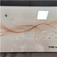 超薄巖板定制打印機 滲墨大板圖片 背景墻圖片