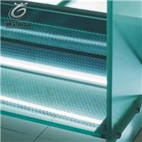 防滑玻璃 夹胶安全玻璃地板