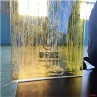 厂家定制3D超白激光雕刻发光玻璃 钢化