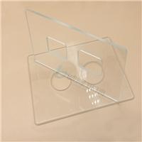 精密钻孔超白玻璃 钢化玻璃磨边钻孔 可丝印 镀膜