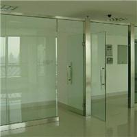扬州广陵区办公隔断玻璃门测量定做安装