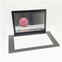 超白材质钢化加工 表面特殊处理高清晰度显示屏玻璃