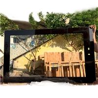 75寸大屏顯示屏玻璃 AR鍍膜絲印鋼化玻璃