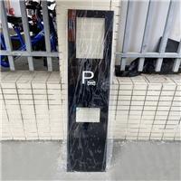 识别扫码玻璃 停车场道闸识别扫码一体机