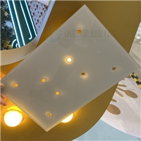 白色丝印玻璃 CNC精雕打孔丝印钢化玻璃 东莞