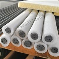 二硅化钼鼓泡管高温玻璃窑池四孔管耐高温