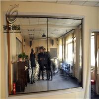 佛山加工廠定制審訊室單向可視玻璃單反鍍鏡面玻璃價格