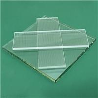 大板材原片超白玻璃 1.5MM视频会议超白玻璃定制