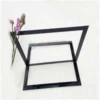 1mm显示屏钢化玻璃 CNC激光打孔面板钢化玻璃