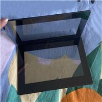显示屏拉丝玻璃 拉丝效果2MM钢化玻璃加工